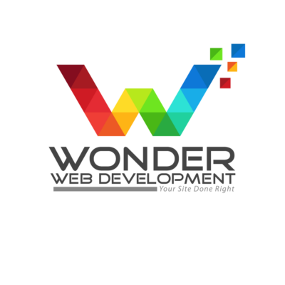 wonder web development logos