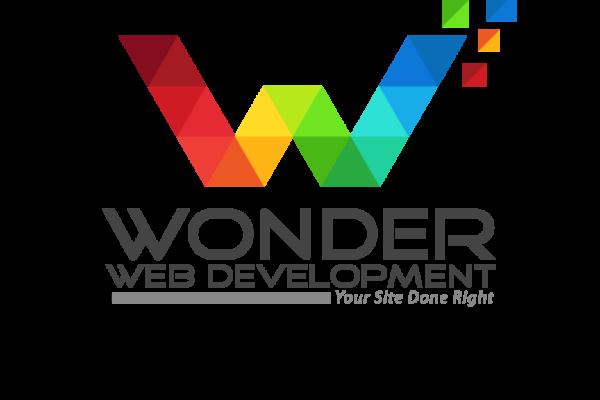wonder web development logos