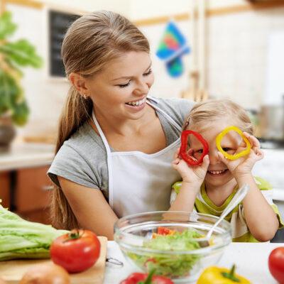 teach children to cook