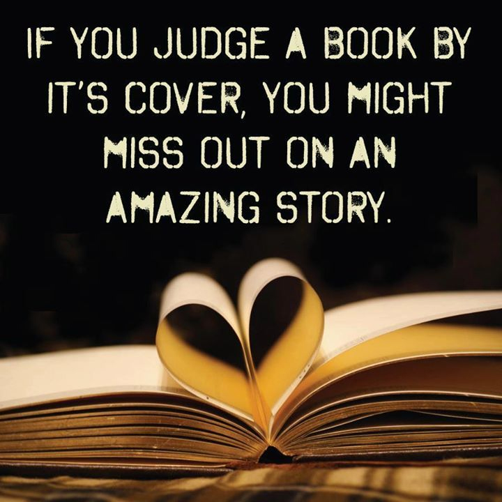 Don't judge an author by their cover