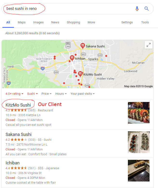 best sushi in reno search results