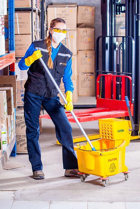 Female Janitor