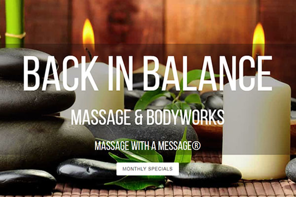 Back in Balance Massage & Bodyworks