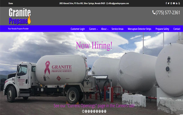 Granite Propane in Silver Springs, NV