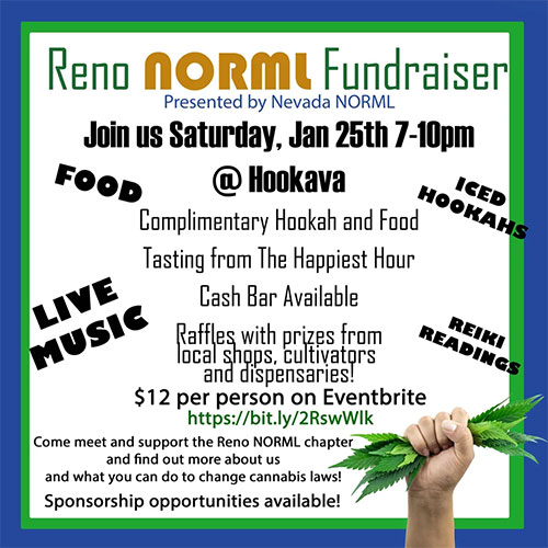 Reno NORML Fundraiser