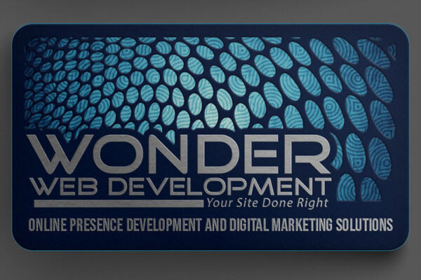 Wonder Web Development Business Cards