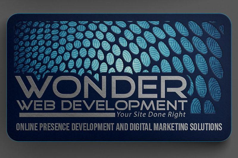 Wonder Web Development Business Cards